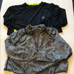 Russell long sleeve lot
